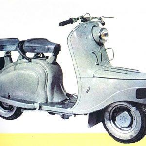 ΙΣΤΟΡΙΑ: Peugeot S 55, S 57, τα πρώτα σκούτερ της εταιρίας