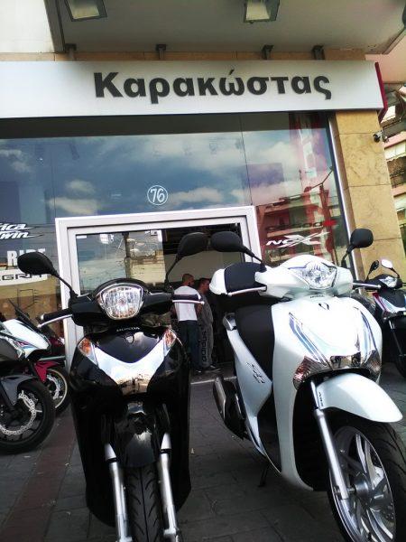Έτοιμο το μαύρο SH Mode για τις πρώτες του περιπέτειες στους δρόμους της Ελλάδας