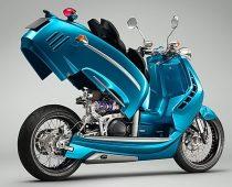 PIPER MOTO J SERIES: Ρετρό και μοντέρνο αριστούργημα