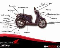 e-moto.gr: Γνήσια Ανταλλακτικά για τα  Honda SH 150