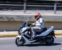 SYM CRUISYM 300i F4 ABS, E4: Πλήρης Δοκιμή