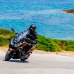 KYMCO AK 550i ABS: Πρώτη βόλτα στην Ελλάδα