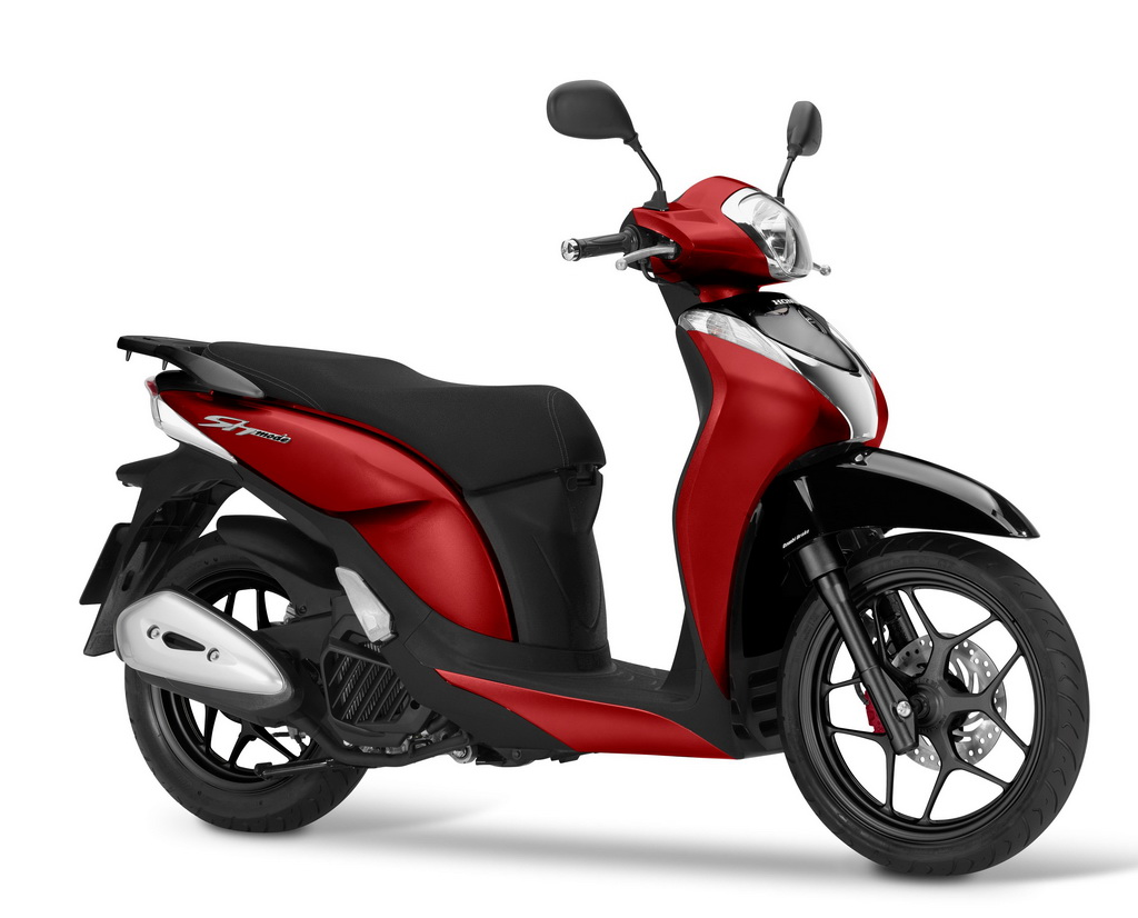 honda sh mode 125 2017 scooternet. Black Bedroom Furniture Sets. Home Design Ideas