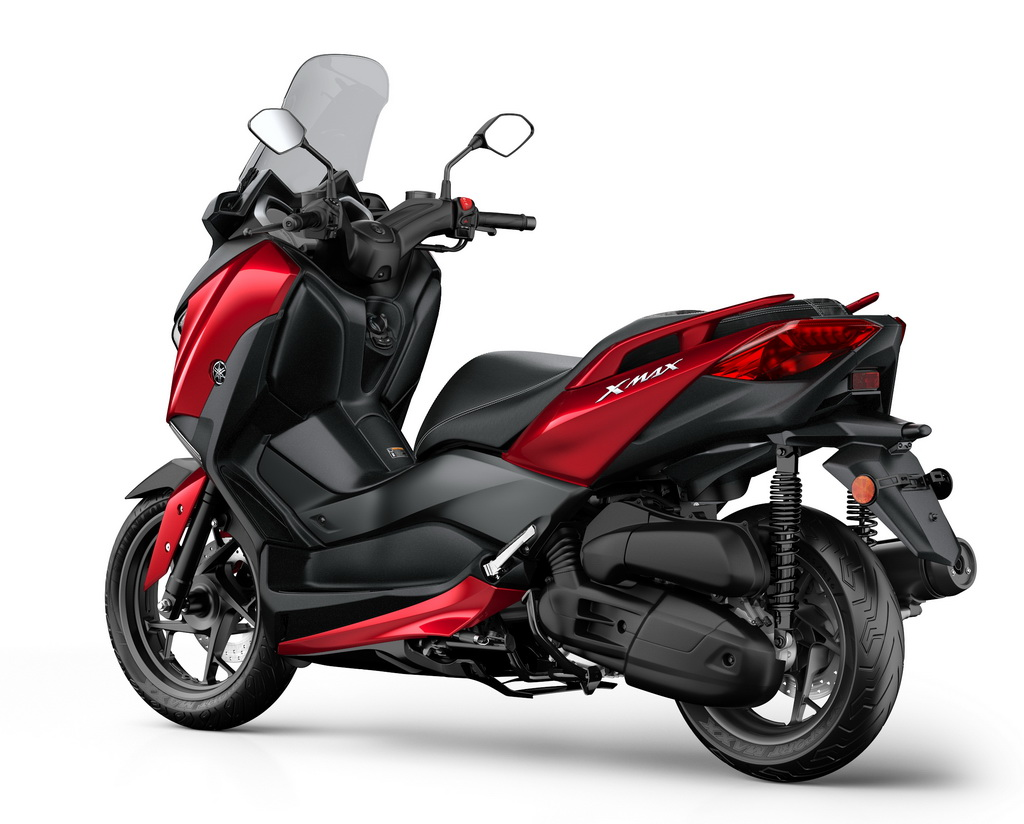 yamaha xmax 125 2018 scooternet. Black Bedroom Furniture Sets. Home Design Ideas