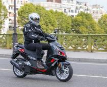 PEUGEOT SPEEDFIGHT 125: Δοκιμή στο Παρίσι