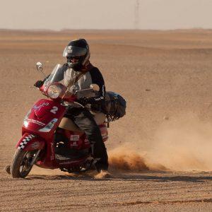 CROSS EGYPT CHALLENGE: Με σκούτερ για 2.500 km!