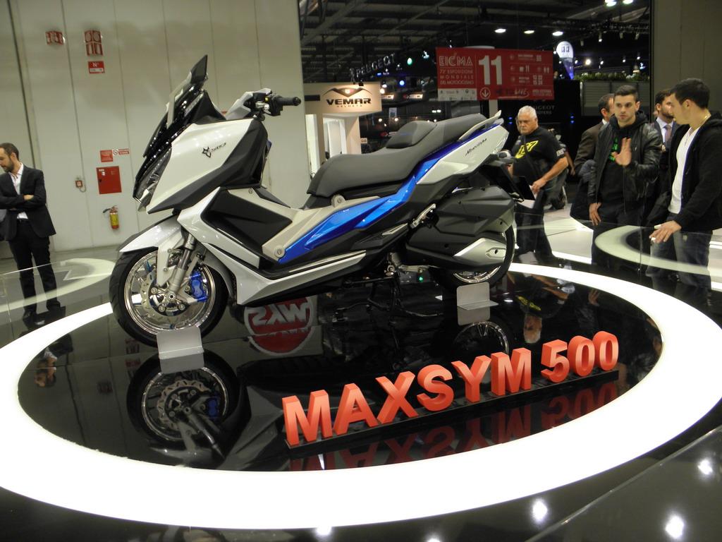 SYM Maxsym 2018: Νέο maxi scooter - SCOOTERNET