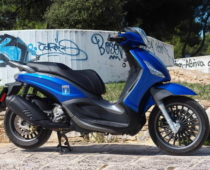 PIAGGIO BEVERLY S 300 ABS, Euro4: Πρώτη επαφή
