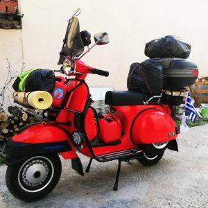 VESPA: Ταξίδι Ελλάδα- Β. Ιρλανδία