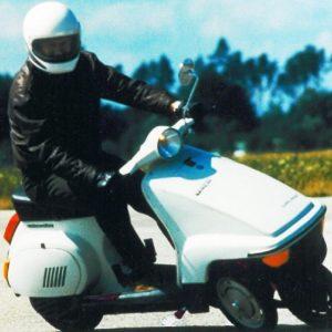 VESPA PX 200/3, 1984: Το πρωτότυπο με τους 3 τροχούς!