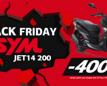 "SYM JET14 200i ABS: Προσφορά ""Black Friday""!"