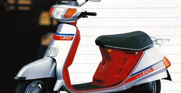 "HONDA LEAD NH 125, 1983: Το θρυλικό ""Λιντάκι"""