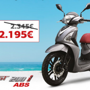 SYM SYMPHONY ST 200i ABS: To best seller σε προσφορά