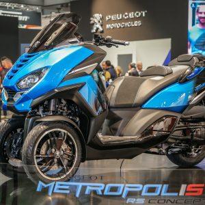 PEUGEOT METROPOLIS RS CONCEPT, 2020: Πρωτότυπο πριν την παραγωγή