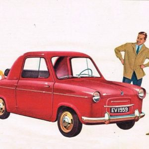 ΙΣΤΟΡΙΑ: Ένα αυτοκίνητο που λεγόταν Vespa 400