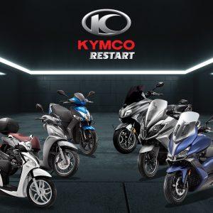 KYMCO RESTART: Επανεκκίνηση με προσφορές σε 6 μοντέλα!