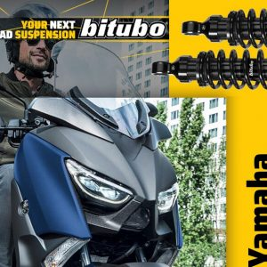 BITUBO: Dark Edition για Yamaha X-MAX 300 (2016-2020)