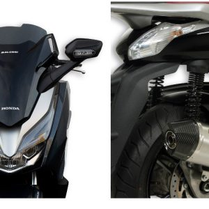MALOSSI: Ζελατίνα Honda Forza 300 – Εξάτμιση Piaggio Beverly 350