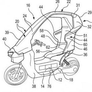 """BMW C1 2021: """"Ψάχνεται"""" για σκεπαστό, ηλεκτρικό σκούτερ"""