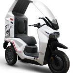 SYM EF3 2021: Tρίτροχο ηλεκτρικό, μικρομεταφορών