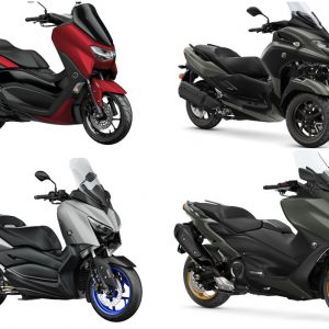 Yamaha 2021: Οι νέες τιμές – τα νέα σκούτερ