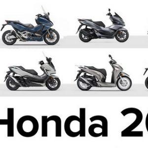 HONDA 2021: Νέες τιμές – Όλα τα νέα μοντέλα
