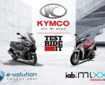 KYMCO GREECE: Τρεις σημαντικές βραβεύσεις