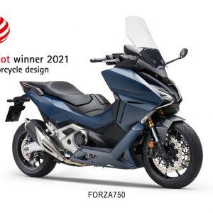 HONDA FORZA 750: Κέρδισε το βραβείο σχεδίασης Red Dot 2021