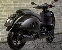 REMUS: Εξάτμιση RS Black Mat για Vespa GTS 300 hpe