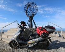 SYM HD 300: Ταξίδι μέχρι το Nordkapp και πίσω