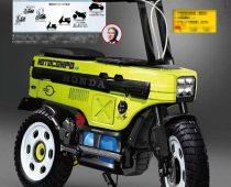 HONDA MOTOCOMPO – Ηλεκτροκίνητη επιστροφή του πτυσσόμενου σκούτερ